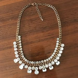 Jewelry - Crystal collar necklace